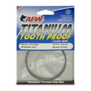AFW TITANIUM Tooth Proof 30