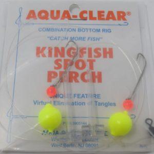 Aqua Clear Hi Lo Rig Chartreuse