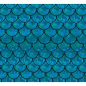 Jessie Jessup Bandana Mermaid Scale Pattern