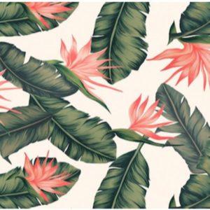 Jessie Jessup Dog Bandana Bird of Paradise Pattern