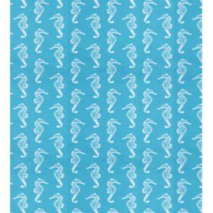 Jessie Jessup Dog Bandana Seahorse Pattern