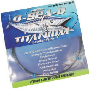 O-SEA-D-Titanium Leader Wire