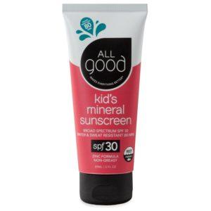 All Good SPF 30 Kids Sunscreen