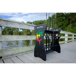 Sea Racks Rod Rack Rasta Mahi Lifestyle
