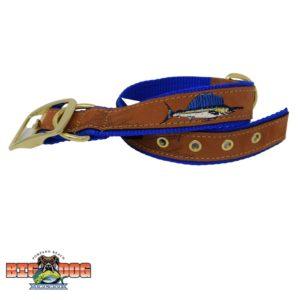 Zep Pro Dog Collar Leather Sailfish