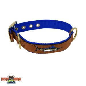 Zep-Pro Dog Leather Collar Marlin