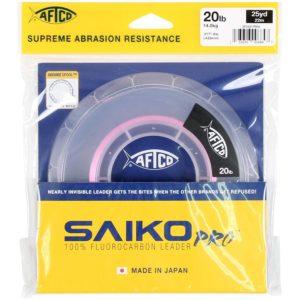 Aftco Saiko Pro Fluorocarbon Leader 25 yrds