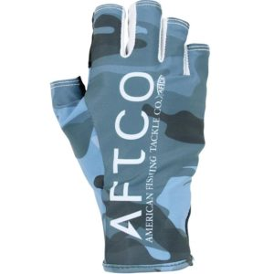 Aftco Solago Sun Glove Blue Camo