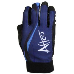 Aftco Solmar UV Gloves Blue Front