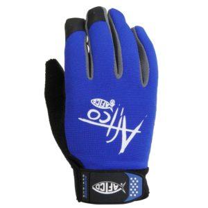 Aftco Utility Glove Blue Backside