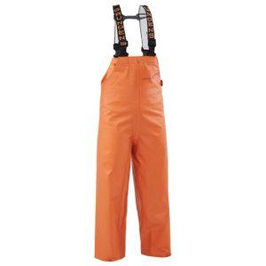 Grundens Clipper 117 Orange Bib Front