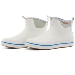 Grundens Deckboss Ankle Boot White
