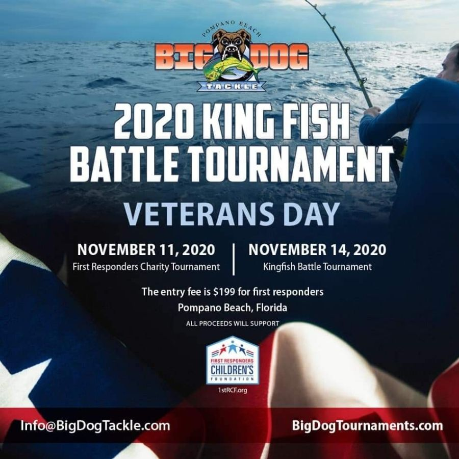 First Responder Charity Fishing