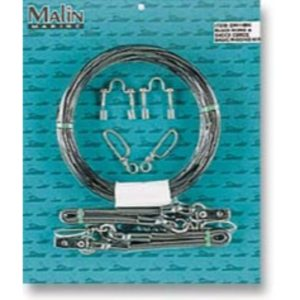 Malin Outrigger Rigging Kit Black Mono