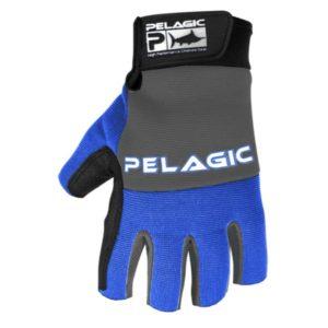Pelagic Battle Gloves Royal Back