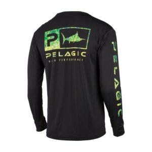 Pelagic Kids Aquatek Icon Dorado Black Back