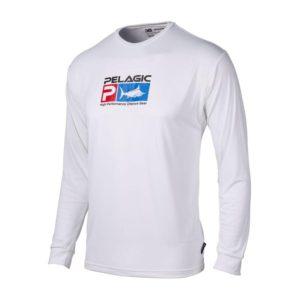 Pelagic Kids Aquatek White Front