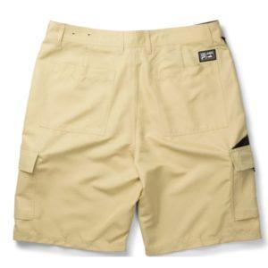 Pelagic Socorro Hybrid Shorts Khaki Back
