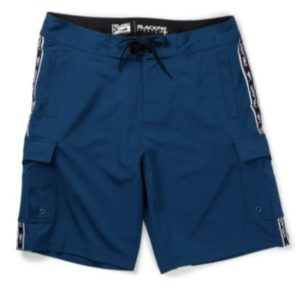 Pelagic Youth Blackfin Stretch Fishing Shorts Blue Front