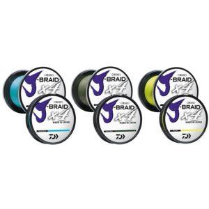 Daiwa J-Braid x4 Bulk Spools