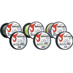 Daiwa J-Braid x8 Bulk Spools