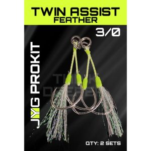 Jyg Pro Twin Assist Feather 3-0