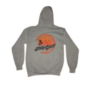 Slicker Beaut OG Sweatshirt Hoodie Light Grey Back