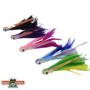 Flying Fish Rigged Lure Feather No Mono