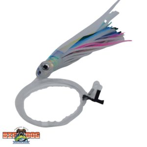 Flying Fish Rigged Lure Squid Blue Pink White Small
