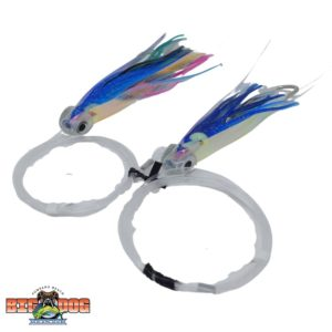 Flying Fish Rigged Lure Squid Small