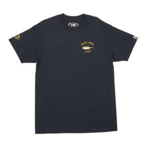 Salty Crew Ahi Mount Short Sleeve Tee Navy Front Web