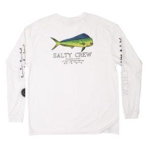 Salty Crew Angry Bull Long Sleeve White Back Web