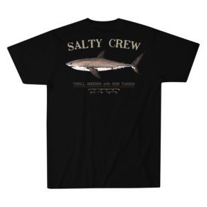 Salty Crew Bruce Short Sleeve Tee Black Back Web
