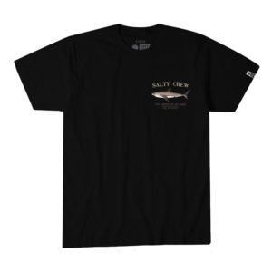 Salty Crew Bruce Short Sleeve Tee Black Front Web