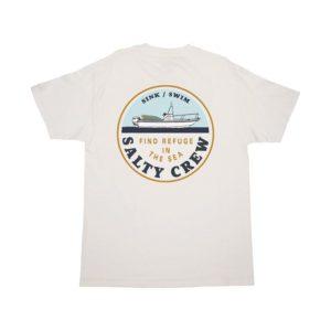 Salty Crew Dawn Patrol Short Sleeve Tee White Back Web