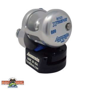 Accurate Boss Extreme BX2-500 Silver Blue Side