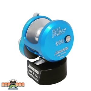 Accurate Boss Fury Big Dog Tackle Special Edition Ice Blue Silver 600X