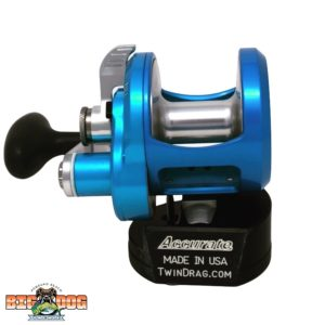 Accurate Boss Fury Big Dog Tackle Special Edition Ice Blue Silver 600X Front
