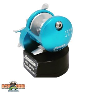 Accurate Tern Big Dog Tackle Special Edition Ice Blue Silver TX-400X