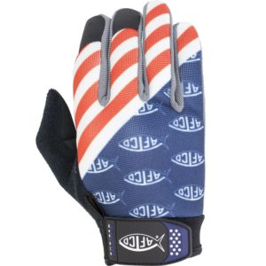 Aftco Utility Glove Navy Back