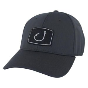 Avid Iconic Fitted Hat Black Charcoal