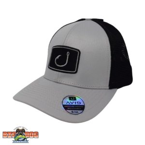 Avid Iconic Fitted Mesh Hat Stone