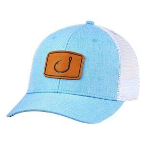 Avid Layday Trucker Hat Blue Poly Chambray
