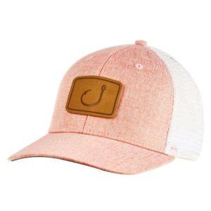 Avid Layday Trucker Hat Coral Chambray
