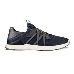 Olukai Mio Li Sneakers Trench Blue Charcoal Side