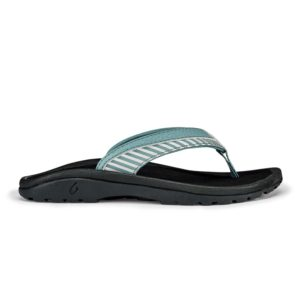 Olukai Ohana Koa Girls Sandals Dusk Stripe Side