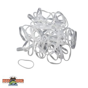 R&R Tackle Clear Bait Rigging Bands 50pk Small
