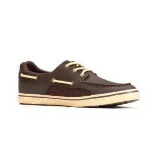 Xtratuf Mens Finatic II Shoe Chocolate Side