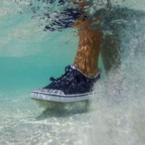 Xtratuf Men's Riptide Shoe Black White Lifestyle