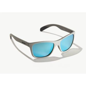 Bajio Gates Sunglasses Basalt Matte Blue Glass Front Side